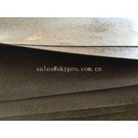 China Gasket Materials Cork Rubber Sheet Roll ROHS Durable Rubber Sealing Gaskets wholesale