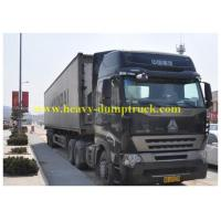 China Howo 8x4 Refrigerated Box Truck with closed Container , Cargo Van Truck wholesale