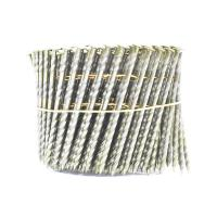 China 16 Degree Pallet Coil Nails Wood Screw Shank Bright Pallet Wire Coil Nails 2.8x50mm wholesale