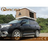 China Hard Shell Fiberglass Car Roof Top Tent / Jeep Roof Rack Tent With Fiber Glass Shell wholesale