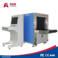 China Double Vision Angles X Ray Baggage Scanner , Bag Scanning Machine With Protective Cover wholesale