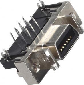 China Female DIP Computer Pin Connectors Cen Type 1.27mm 14P Zinc Alloy Transverse harpoon wholesale