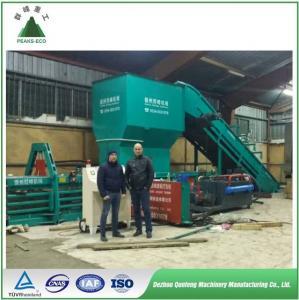 China Full automatic horizontal hydraulic baler for PET plastic film/bottle baling press machine wholesale