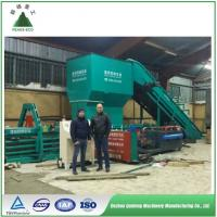 Buy cheap Full automatic horizontal hydraulic baler for PET plastic film/bottle baling press machine from wholesalers