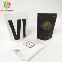 China Protein Powder Coffee Bean Foil Pouch Packaging Gravure Printing Aluminum Foil Packet wholesale