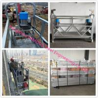 Buy cheap Hot Dip Galvanized Suspended Scaffold Platform With Heavy Loading Capacity from wholesalers