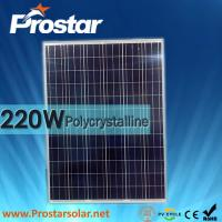Buy cheap Prostar poly 220w high efficiency solar panels prices from wholesalers
