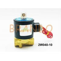 China 3/8 Brass Material Standard 2/2 Way Water Solenoid Valve 2W040-10 wholesale