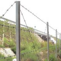 China Corrosion Resistent Pvc Coated Electric Galvanized High Tensile Barbed Wire Fencing For Prison on sale