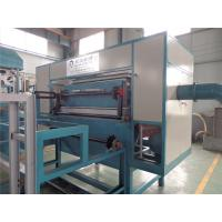 China Rotary Paper Egg Box Pulp Molding Machine , Food Packaging Containers Machinery wholesale