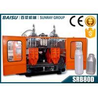 China PP Transparent Bottle Automatic Blow Molding Machine SIEMENS Motor Driven SRB80D-3 wholesale