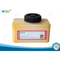 China 1.2L Yellow Coding Ink Domino Cartridge IR-261BK Abrasion Resistant wholesale