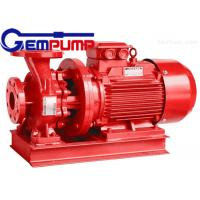 China ISW Horizontal Pipe Inline Water Booster Pump Red Color 10~125 m Head wholesale