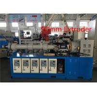 China Common Cold Feed Rubber Sheet Extruder , Rubber Granulator MachineAlloy Steel Screw wholesale