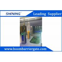 3-6m Boom Barrier Gate / Parking Lot Swing Gates With IC Card Read System