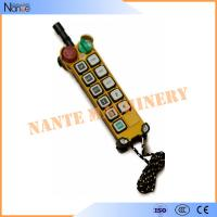China Pendant Industrial Remote Controls Wireless , F24-10 S/D Transmitter wholesale