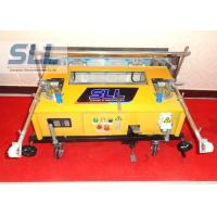 China Remote Control Construction Plaster Machine / Automatic Plastering Machine For Wall wholesale