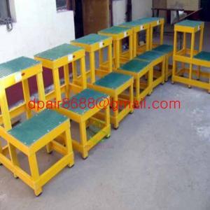 China Easy handing fiberglass foldable ladder wholesale