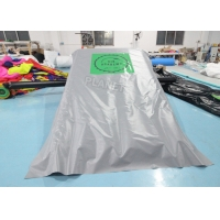 China 0.55mm PVC Inflatable Sports Games Jumping Stunt Airbag With Ramp wholesale
