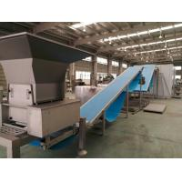 Quality 1500kg / Hr Capacity Puff Pastry Dough Machine Turnkey Solution With Proffer And for sale