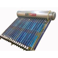 China PHN series compact solar hot water heater with copper coil on sale