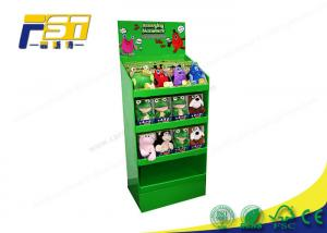 China Custom Advertising Retail Cardboard Shelf Paper Floor Display Stand wholesale