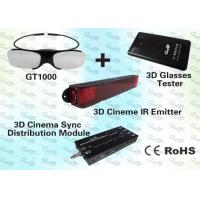 China Polarised 3D Computer Glasses and Emitter for Education  wholesale