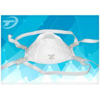 China Adjustable Band Disposable Face Mask FFP3 Respirator Masks With Valve wholesale