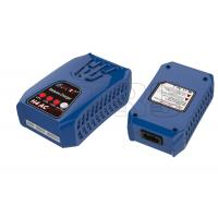 China Smart Blue Plastic Case 0.1-2Amp balance lipo charger for RC toy / rc heli charger on sale