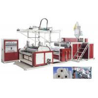 China HDPE / LDPE Stretch Film Machine For 3 Layers , Film Width 500 - 1500mm wholesale