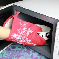 China Kitchen Useful Insulate Cotton Microwave Oven Gloves / Heat Resistant Oven Mitts wholesale
