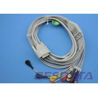China No Resistance EKG Electrode Lead Wires Compatible Nihon Kohden TP7001 wholesale