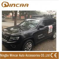 China Cherokee iron Car Roof Racks Universal lamp holder , 150KGS Load wholesale