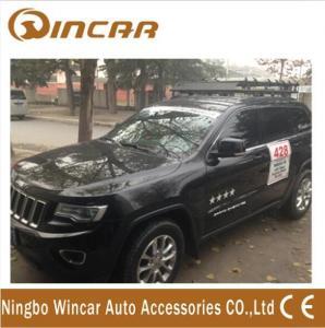 China Cherokee iron Car Roof Racks Universal lamp holder , 150KGS Load wholesale