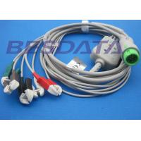 Quality T5 / T8 ECG Cables And Leadwires Compatible Mindray Patient BeneView for sale