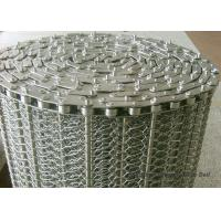 China SUS304 Spiral Woven Stainless Steel Wire Belt Argon Welding ISO9001 For Baking wholesale