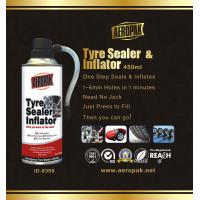 China White Aeropak Emergency Tyre Repair Sealant Inflator 450ml 650ml wholesale