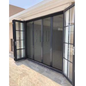 China Fire Attenuation Screen Sound Insulation Anti-theft Corrosion Resistance Swing Glass Exterior Doors Windows wholesale