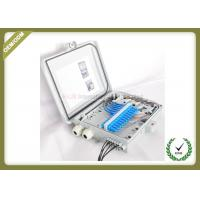 Buy cheap Outdoor FTTH Wall Mount Fiber Termination Box 24 Core , Optical Fiber Junction Box from wholesalers