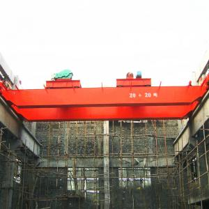 China industrial warehouse double girder electric overhead crane on sale