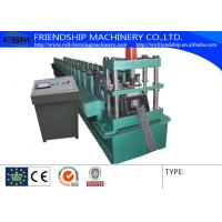 China Hydraulic Mould Cutting Rack Roll Forming Machine With 4kw Main Motor Power wholesale