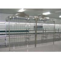 China Chemical Plant Softwall Clean Room Epoxy Powder Coated Steel wholesale