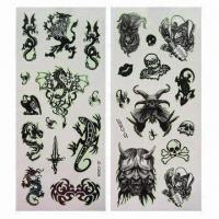 China Tattoo Stickers, Available in Scorpion Design on sale