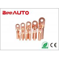 China DT Electrical Uninsulated Copper Terminal Lugs For Railway , Transportation wholesale