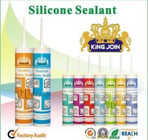 China Low Modulus Aquarium Silicone Sealant High Temperature Sealing Adhesive wholesale