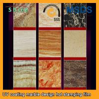 China PVC Wall Panels PET Heat Transfer Film With Wood Grain Or Marble Printed wholesale
