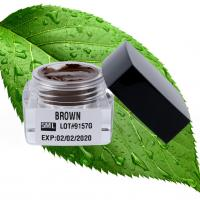 China Effective Eyebrow Tattoo Pigment Fast And Easy Color Tattoo Ink  5ML Brown wholesale