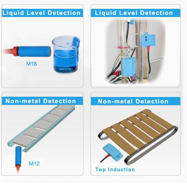 M12 Plastic Detection Capacitive Proximity Sensor 5mm Sensing 12V Capacitive Switch