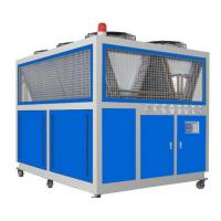 China R134a Refrigerant Air - Cooled Screw Chiller / Box type Industry Water Cooling Machine wholesale