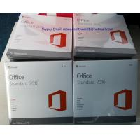 Buy cheap Lifetime Warranty Office 2016 Retail Box Microsoft Office DVD Online Activation from wholesalers